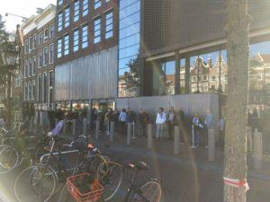 Entrada da Casa da Anne Frank