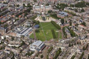 Museumplaein - A Praça dos Museus em Amsterdam