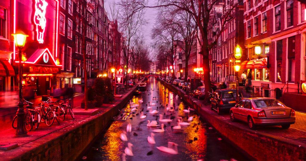 Red Light District - Bairro da Luz Vermelha em Amsterdam