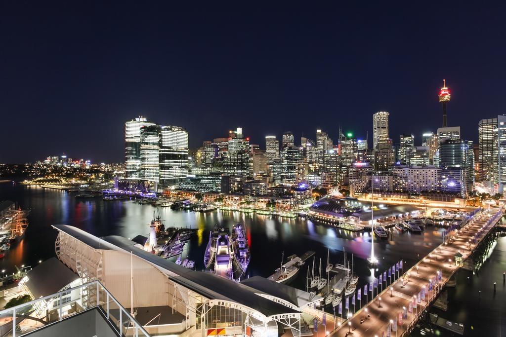 Darling Harbour a noite