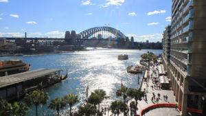 Circular Quay, Sydney pela manhã