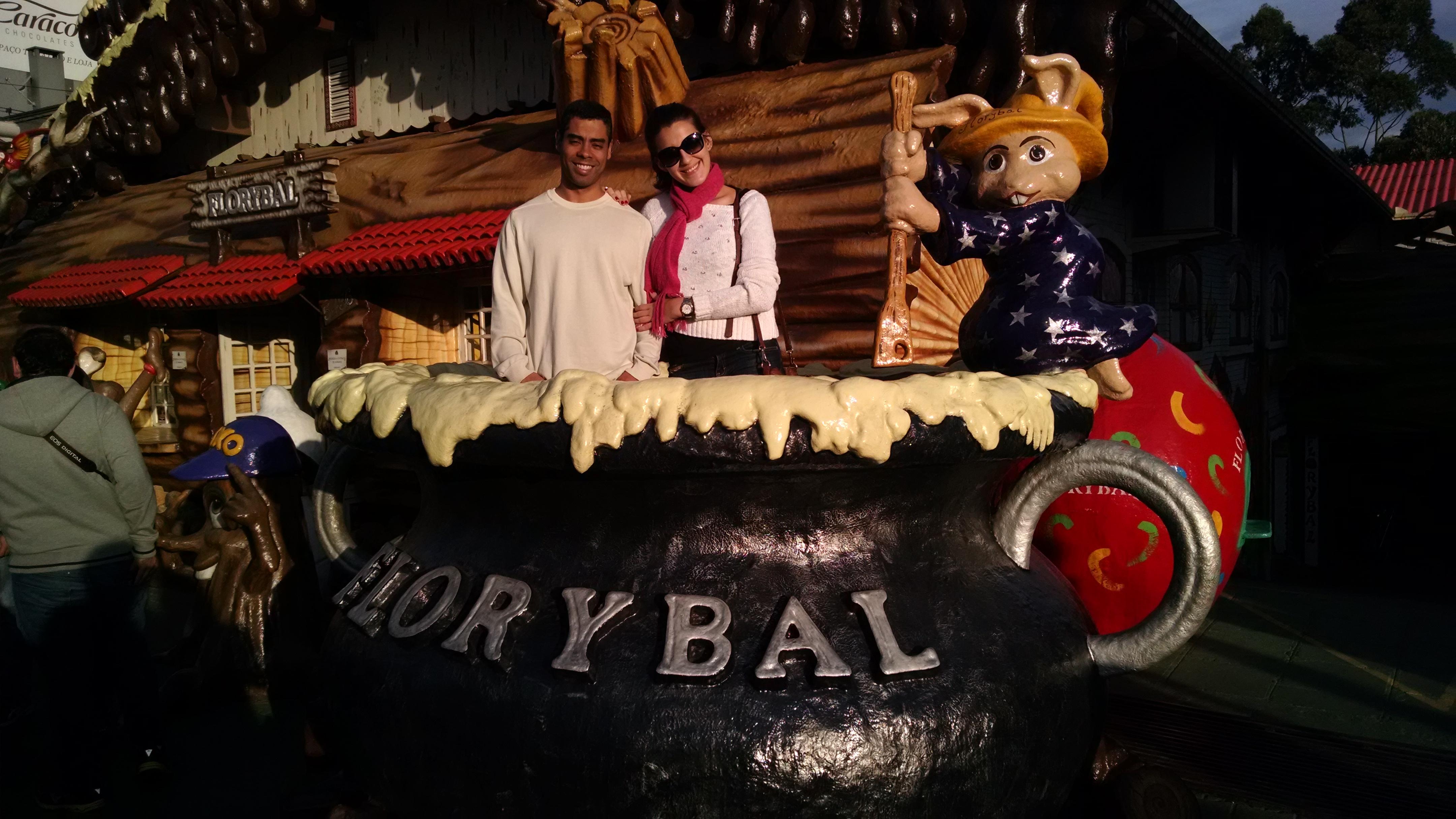 Florybal, fábrica de chocolates em Gramado