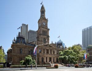 Sydney Town Hall Prefeitura de Sydney