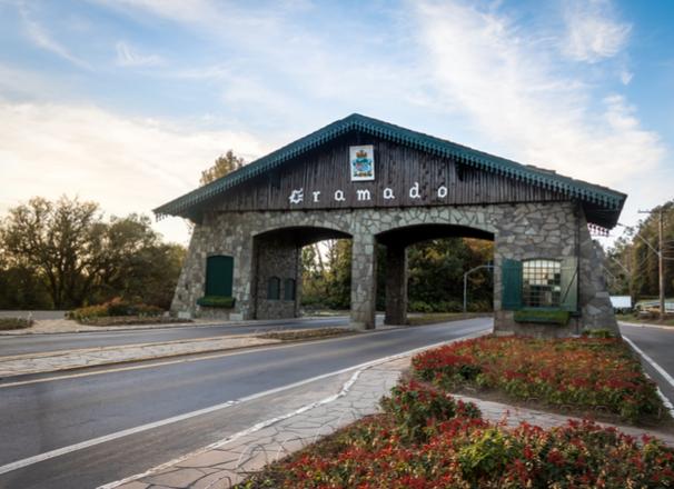 Portal Gramado no Rio Grande do Sul