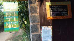 Entrada Las Sorrentinas - Restaurante Ilha Grande, Abraão