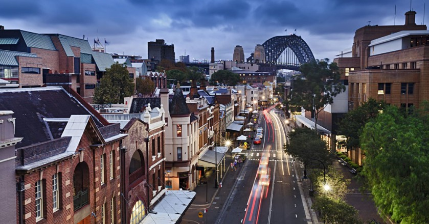 The Rocks, região de Sydney