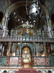 Interior da Basílica de San Marco - Veneza