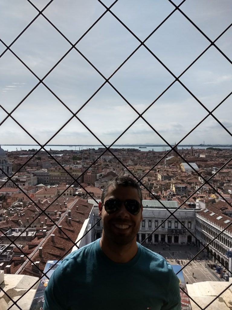 Torre do Campanário em Veneza